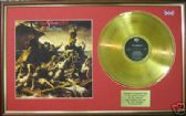 POGUES - LP  Gold Disc & Cover - RUM, SODOMY &  LASH